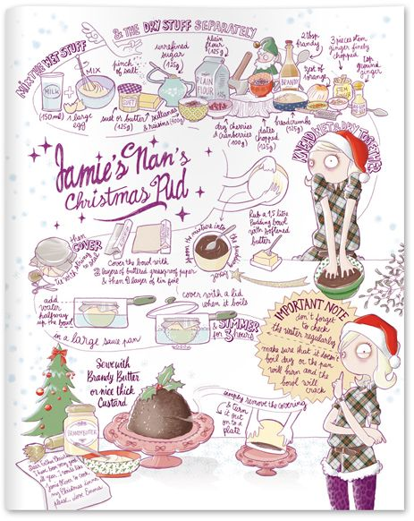 jamie magazine a issue 7 a christmas special jamie s nan s christmas pudding recipe