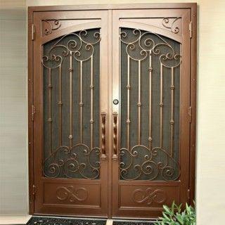 Athens Security Screen Door Wrought Iron Security Doors Iron Security Doors