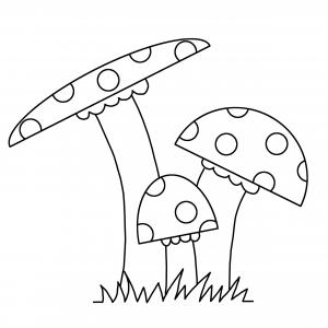 malvorlagen herbst pilze