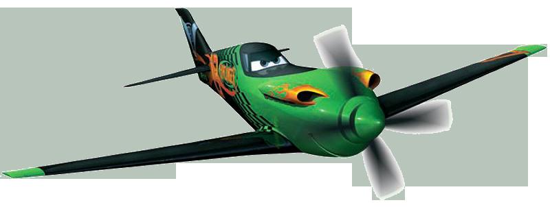 DISNEY PIXAR CARS PLANES-EL CHUPACABRA DIECAST avion