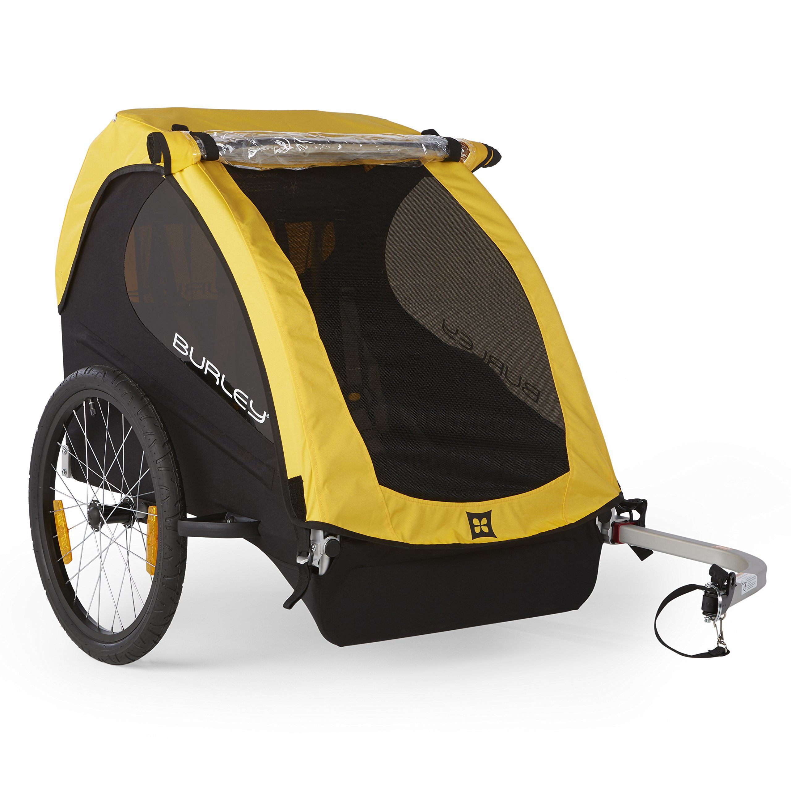 Burley Design Bee Bike Trailer Yellow