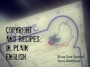 Copyright for recipes every day i get a few emails detailing copyright for recipes every day i get a few emails detailing frustration over another blogger forumfinder Image collections