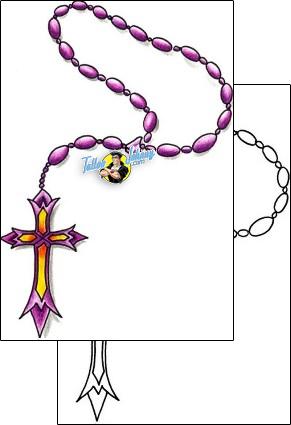Religious & Spiritual tattoo | DKF-00281 #rosarybeadtattoo Rosary Beads Tattoo religious-and-spiritual-christian-tattoos-dejan-zohar-dkf-00281 #rosarybeadtattoo