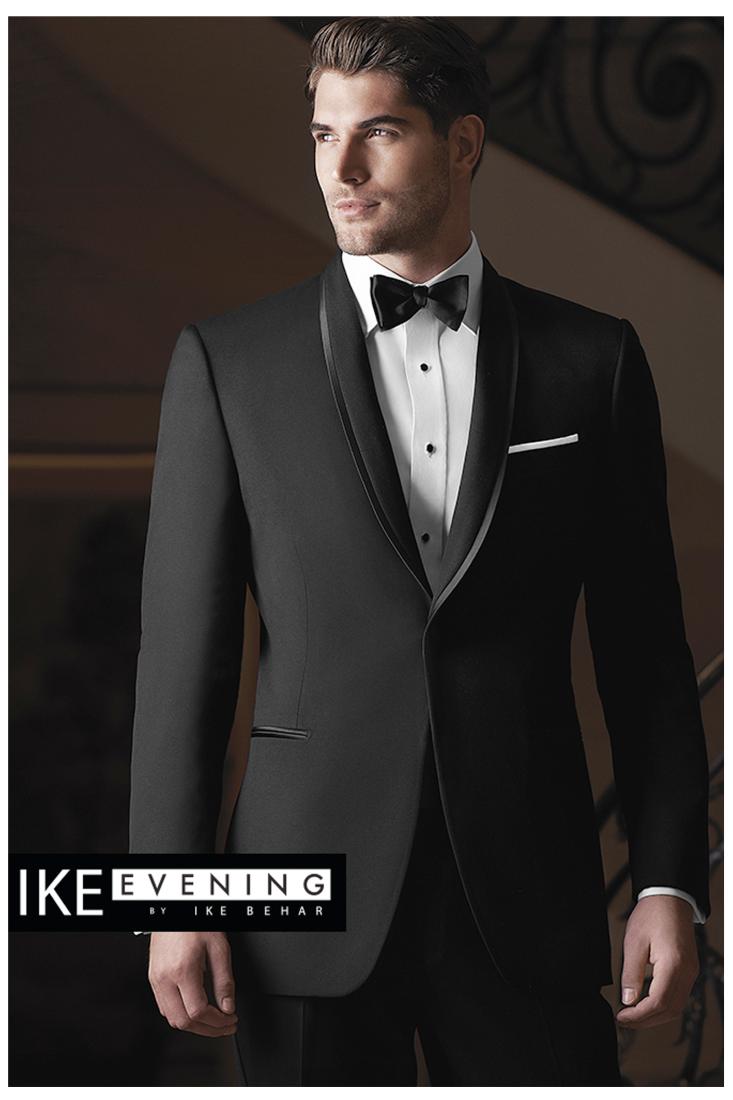 Ike Behar Black Waverly | Men fashion | Pinterest | Anzug hochzeit ...