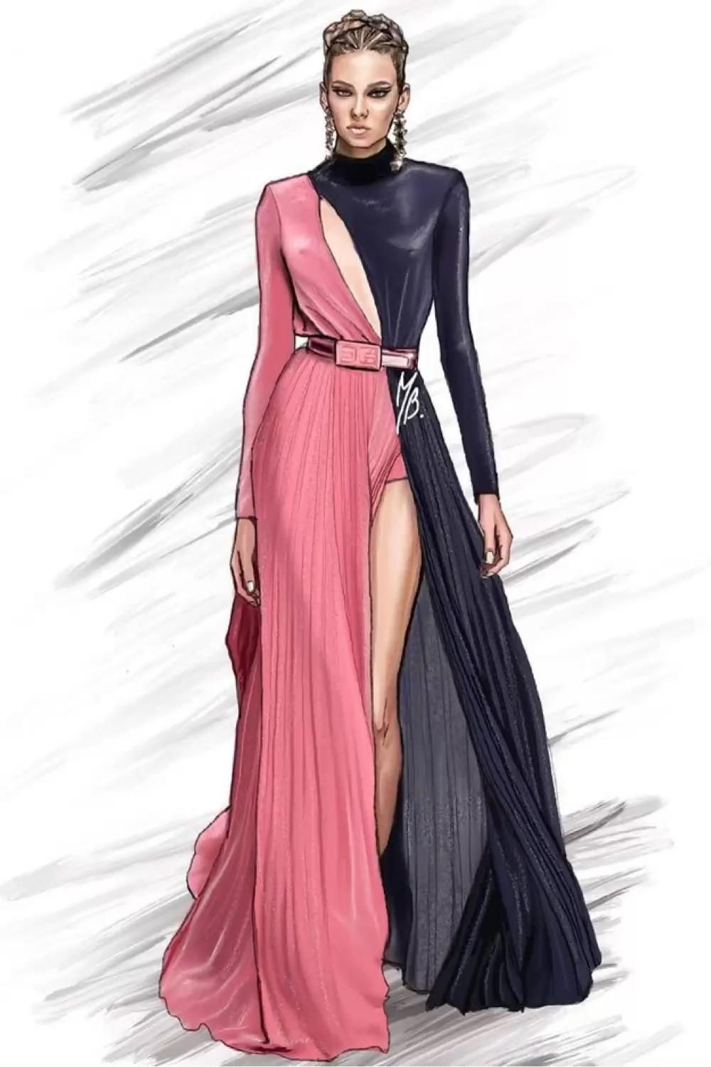 Photo of #fashionillustration #fashion #illustration #art #fashiondesigner