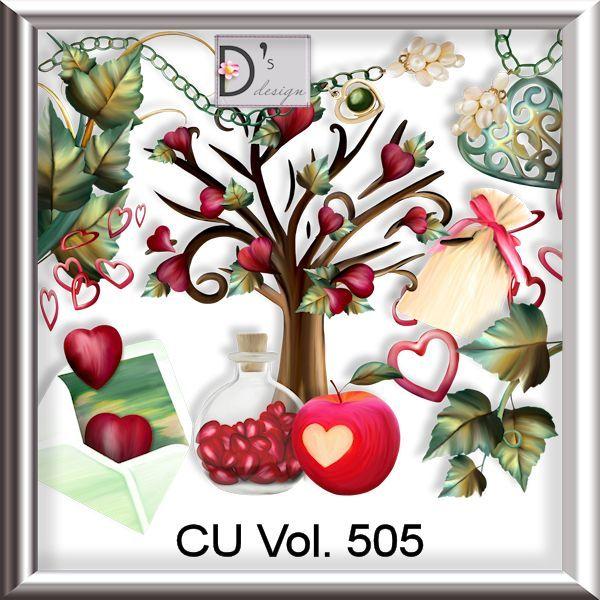 Vol. 505 by Doudou's Design [doudou_cuvol505] : Commercial use Digital Scrapbooking, #CUDigitals