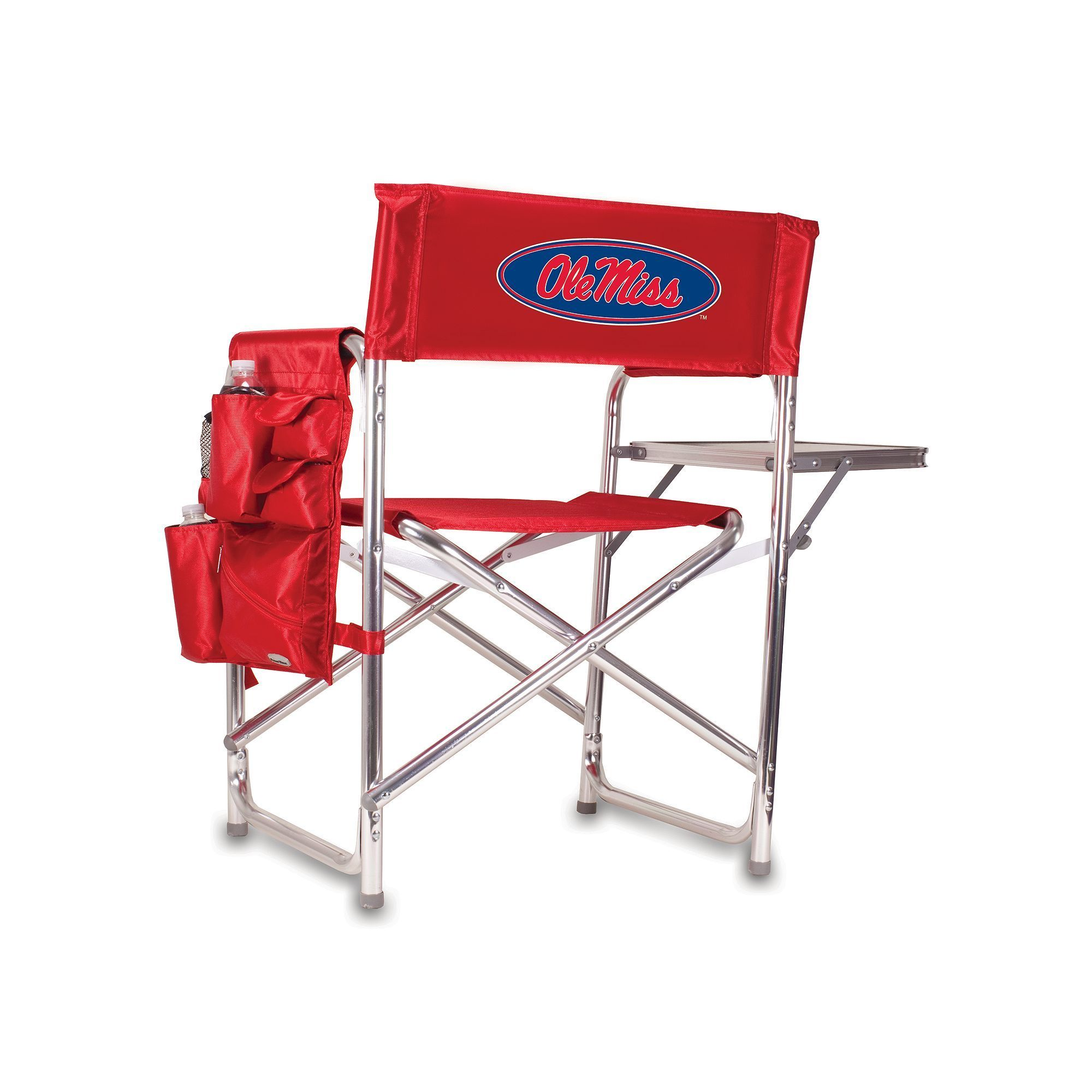 Outdoor Ole Miss Rebels Sports Chair, Red