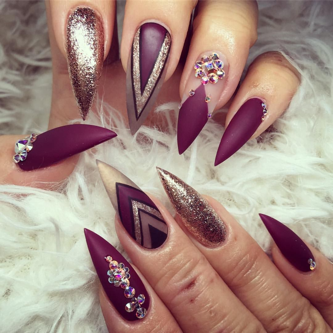 See this Instagram photo by @helennails_yeg • 3,236 likes | Stiletto ...