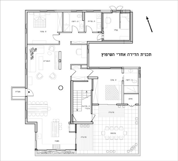 164sqm Penthouse  Tel