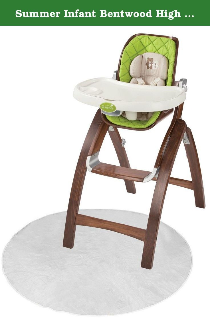 Summer Infant Bentwood High Chair With Floor Mat The Bentwood High Chair Provides A Desk Chair Set Chair Table Chair Sets