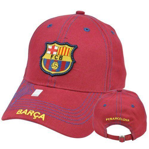 ecd7668fc0f Rhinox FC Barcelona FCB Barca Gorra C1E08 Spain Espana Stitches Hat Cap  Soccer by Gol By