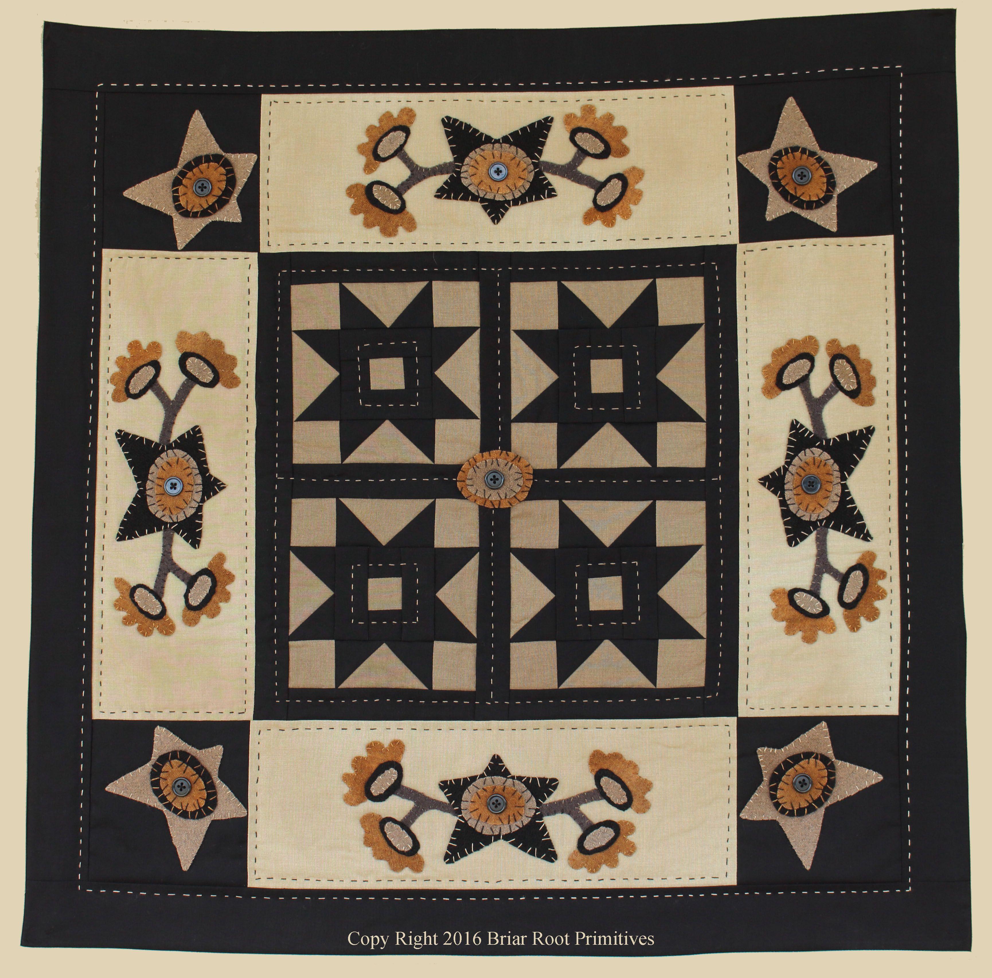 Midnight Blossoms Quilt Pattern Quilt s Pinterest