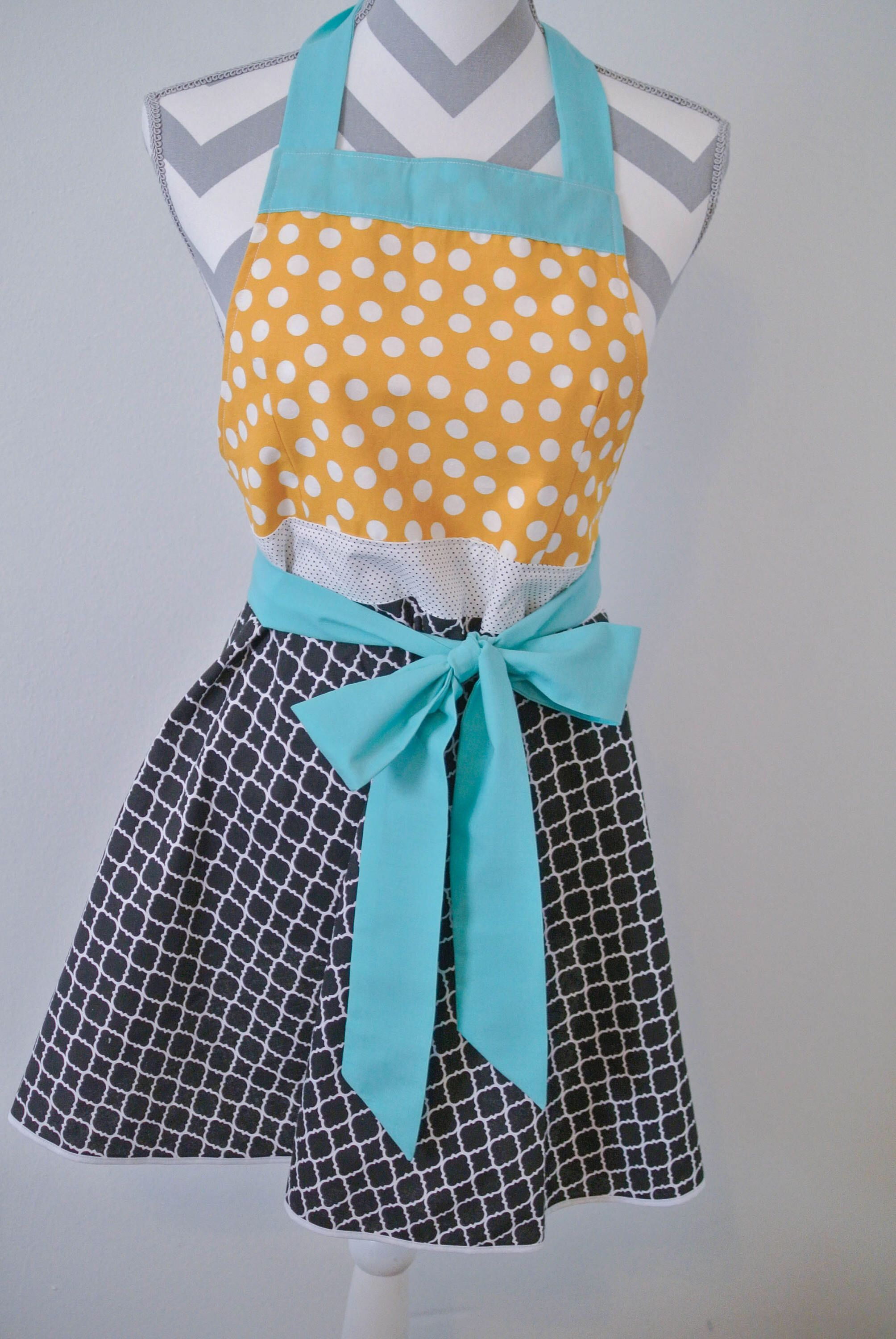 Aprons for Women, Women\'s Aprons, Apron, Apron Woman, Full Apron ...