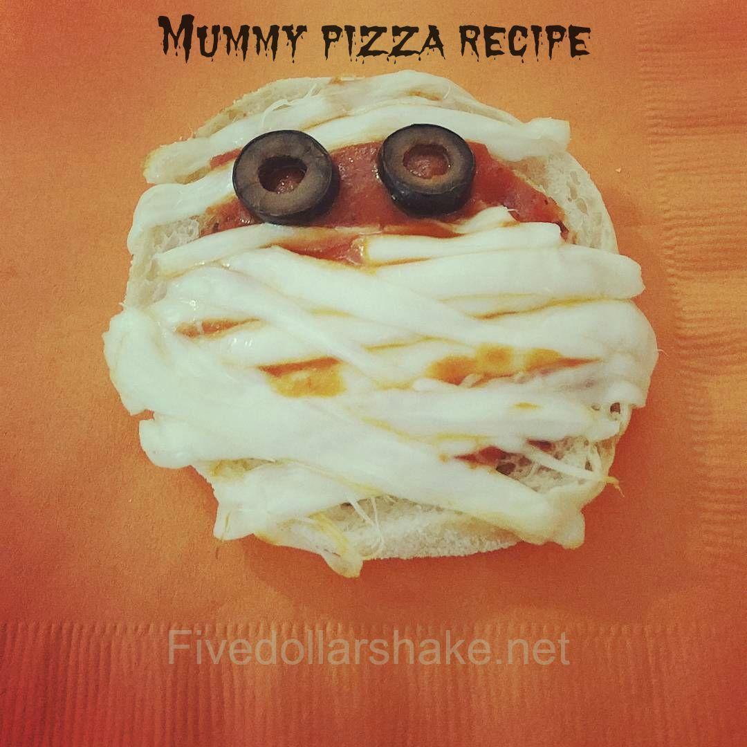 Mummy Pizza Recipe Inspired Hotel Transylvania 2 #