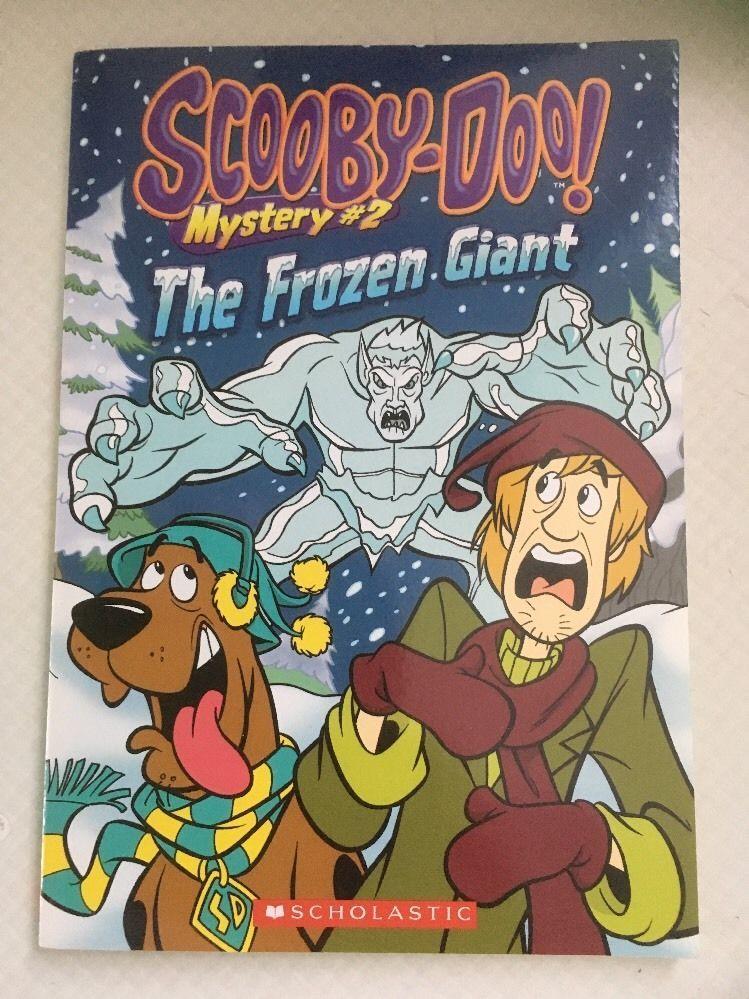 Scooby Doo Scholastic Book  The frozen giant  | eBay