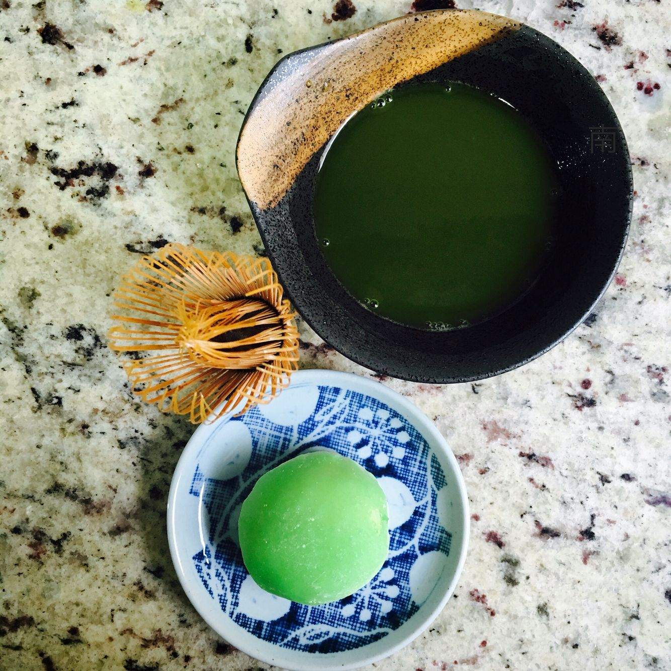 Matcha and mochi (rice cake) Naturally blessed with nutrients, matcha is Japan's most traditional green tea.