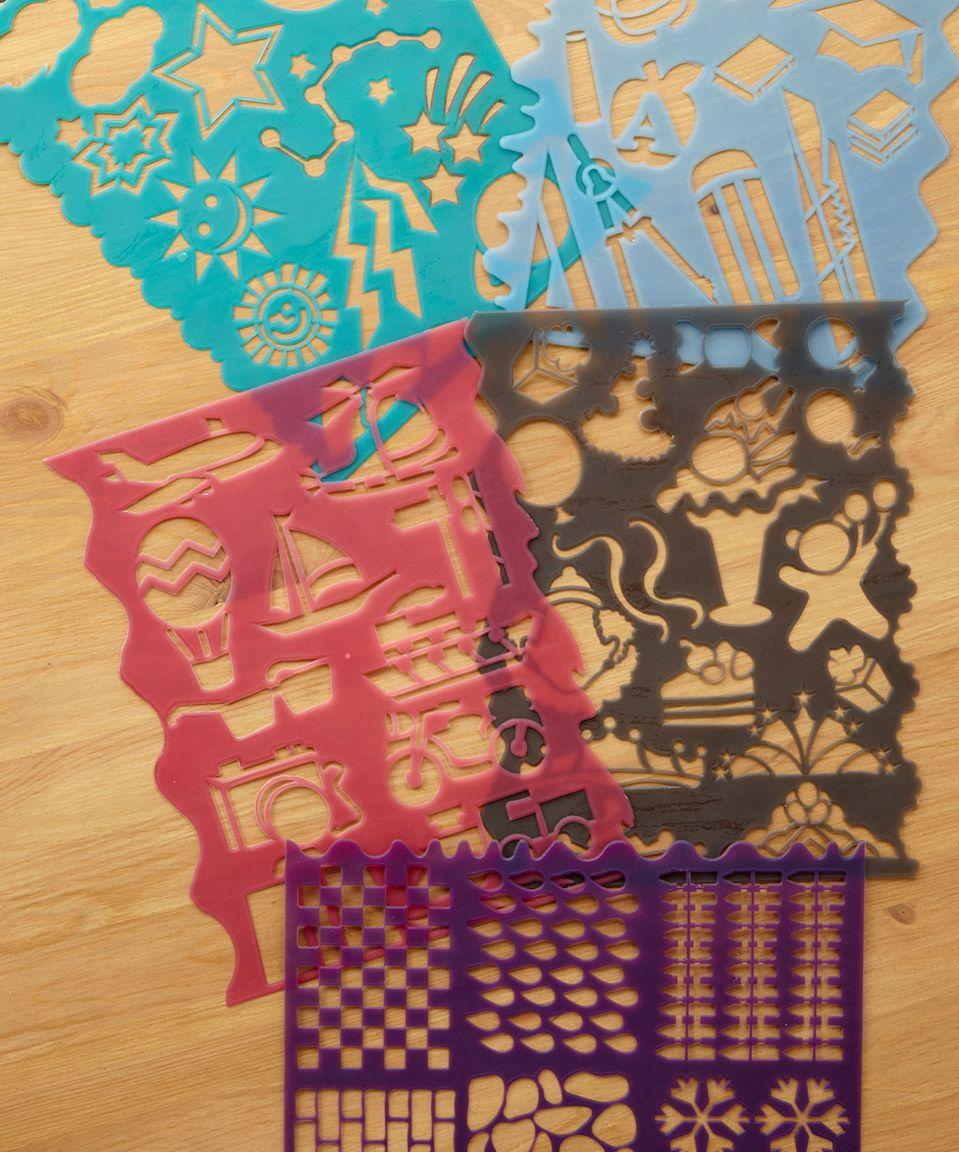 Look what I found on #zulily! Craft Stencil - Set of 10 by S&S Worldwide #zulilyfinds