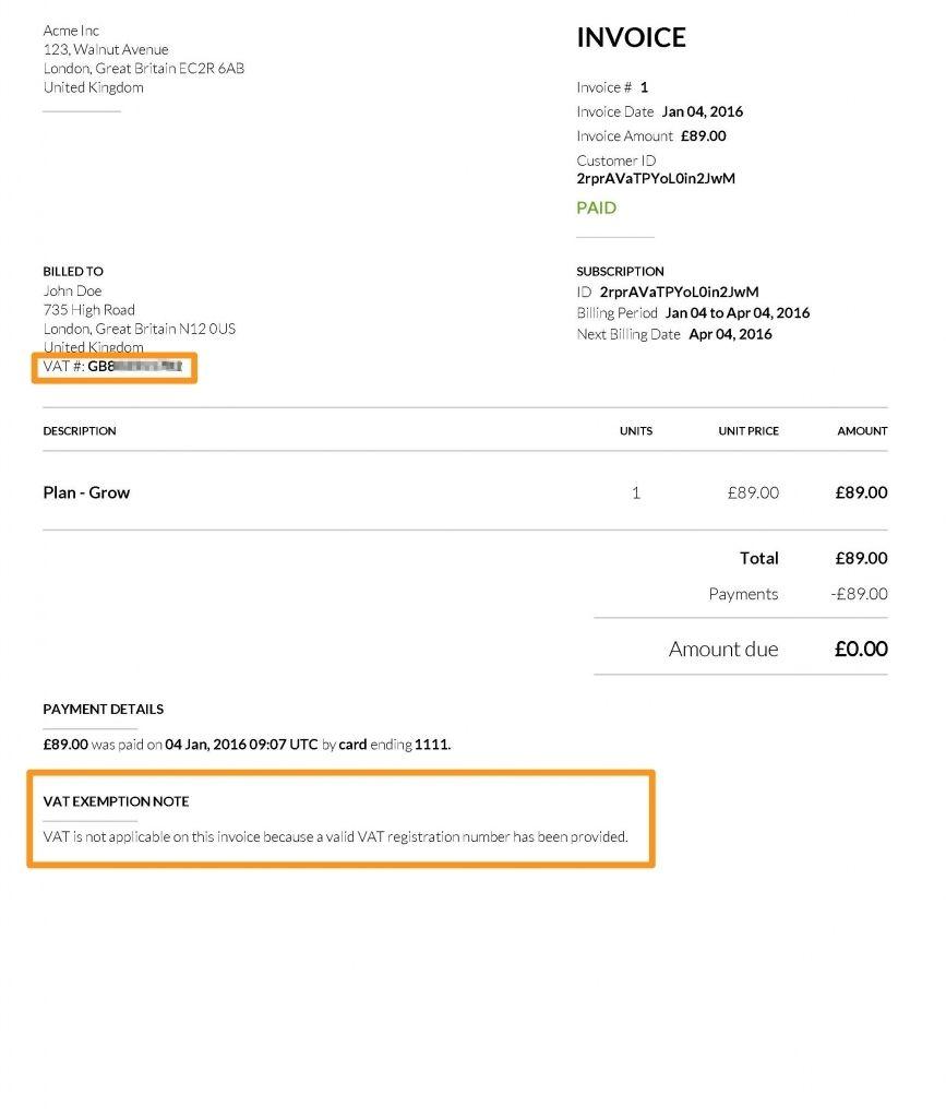 Sample Invoice Non Vat Registered Serversdb Example Invoice Not Vat Registered Invoicing Invoice Template Invoice Template Word