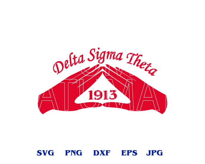 Delta Sigma Theta Delta Sigma Theta Sorority shirt DST sign Delta Sigma Theta Design Download gift svg jpg png file cameo cricut