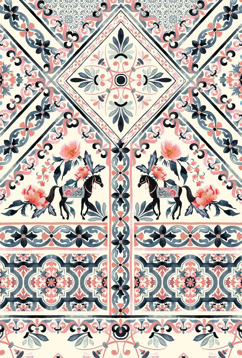 Estampas Coleção | Além do Labirinto | Antix on Behance #textiledesign