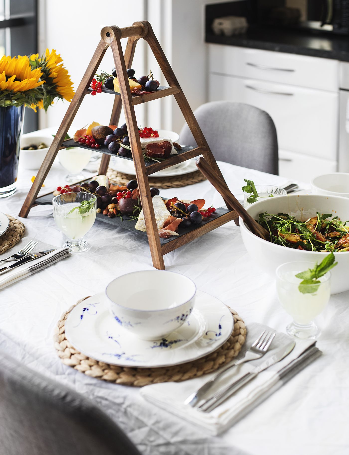 Mix n match old new casual dinner with villeroy - Vajillas villeroy boch ...