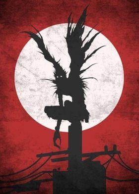 Metal Poster Ryuk Death Note