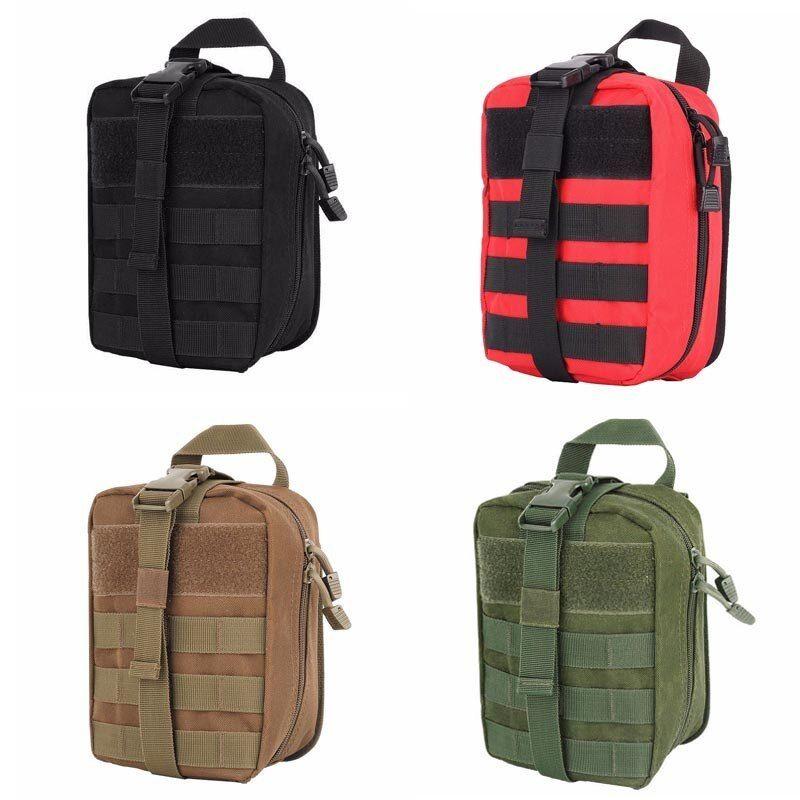 Tactical Medical Aid Bag Pouch First Aid Bag Military Utility CS Equipment Kit