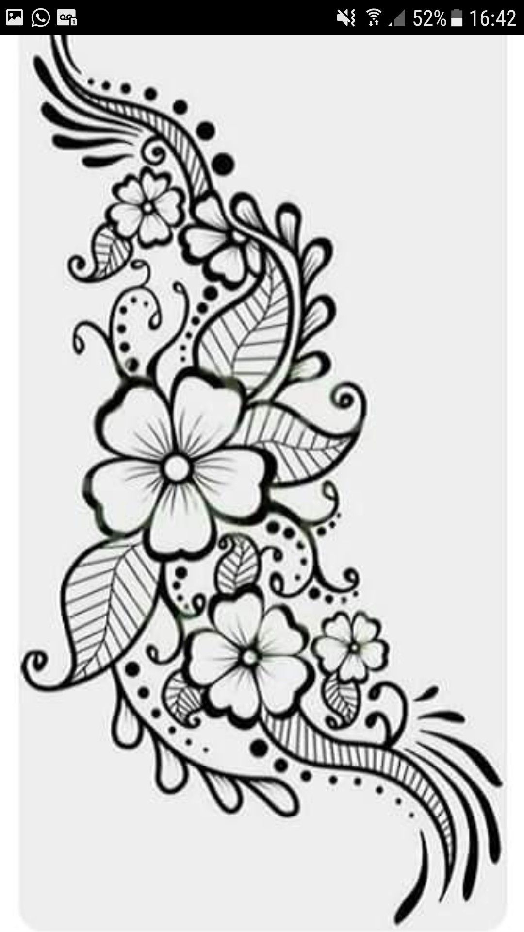 Pin By Miroslava Vasileva On Mandala Tattoo Henna Tattoo Designs
