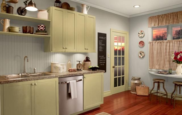 Beautiful Kitchen Paint Colors with Cream Cabinets