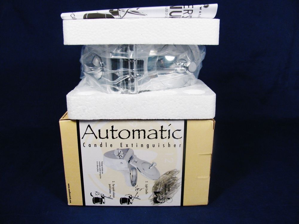 CANDLEWATCH Automatic Candle Extinguisher for Yankee New England Empire NIB #Candlewatch
