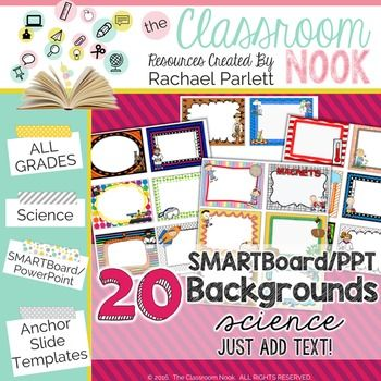 smartboard and powerpoint background templates {science theme, Powerpoint templates