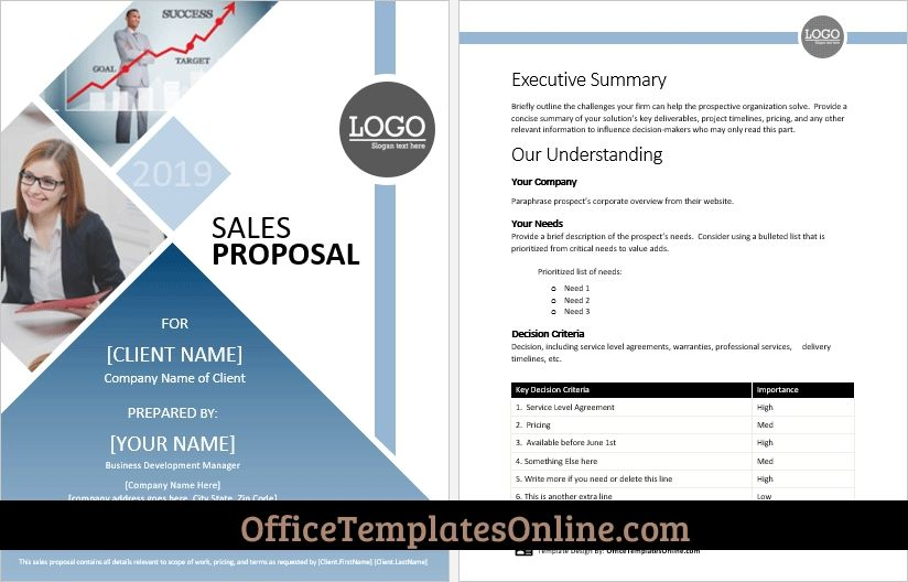 Ms Word Sales Proposal Template With Beautiful Cover Page In 2021 Proposal Templates Free Proposal Template Project Proposal Template - ms word proposal template