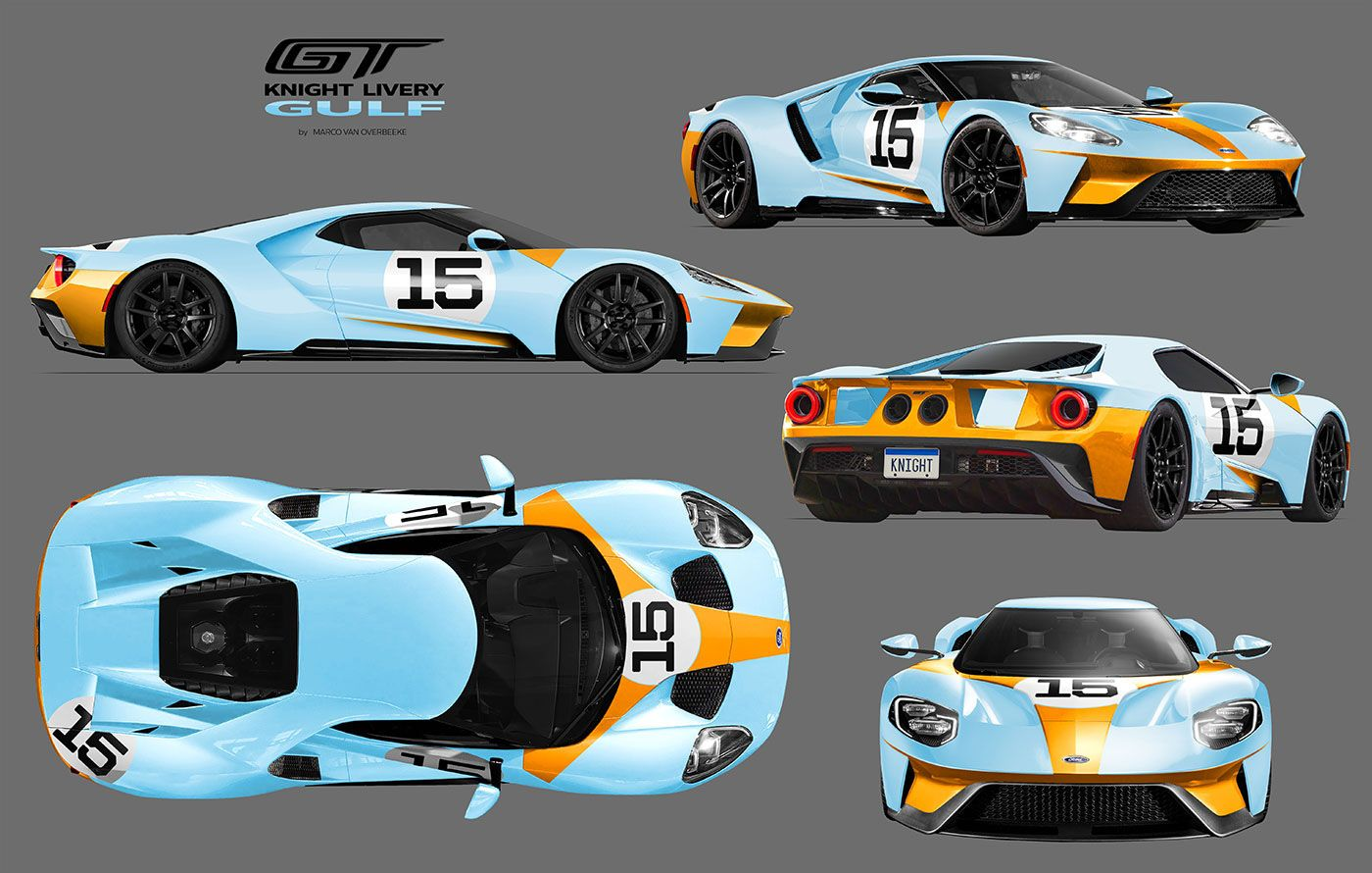 2017 Ford Gt Custom Liveries Knight Livery Ford Gt Gt Cars Ford