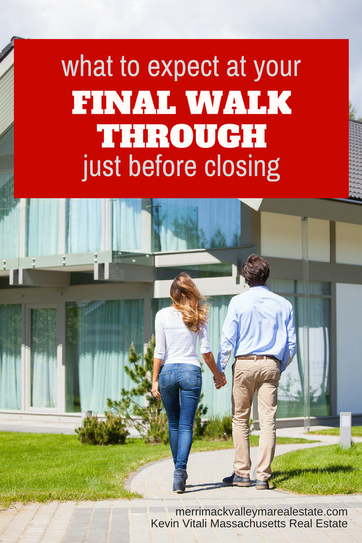 The Home Buyer Final Walk Through Before Closing Real Estate