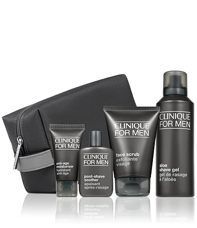 Image result for Clinique - 'Great Skin For Him' skincare Christmas gift set
