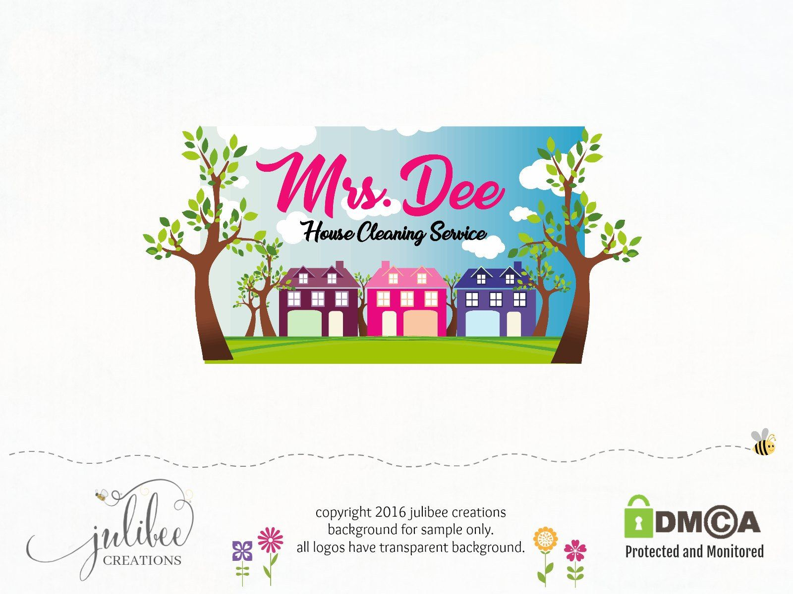 house premade logo maid service logo photography logos and