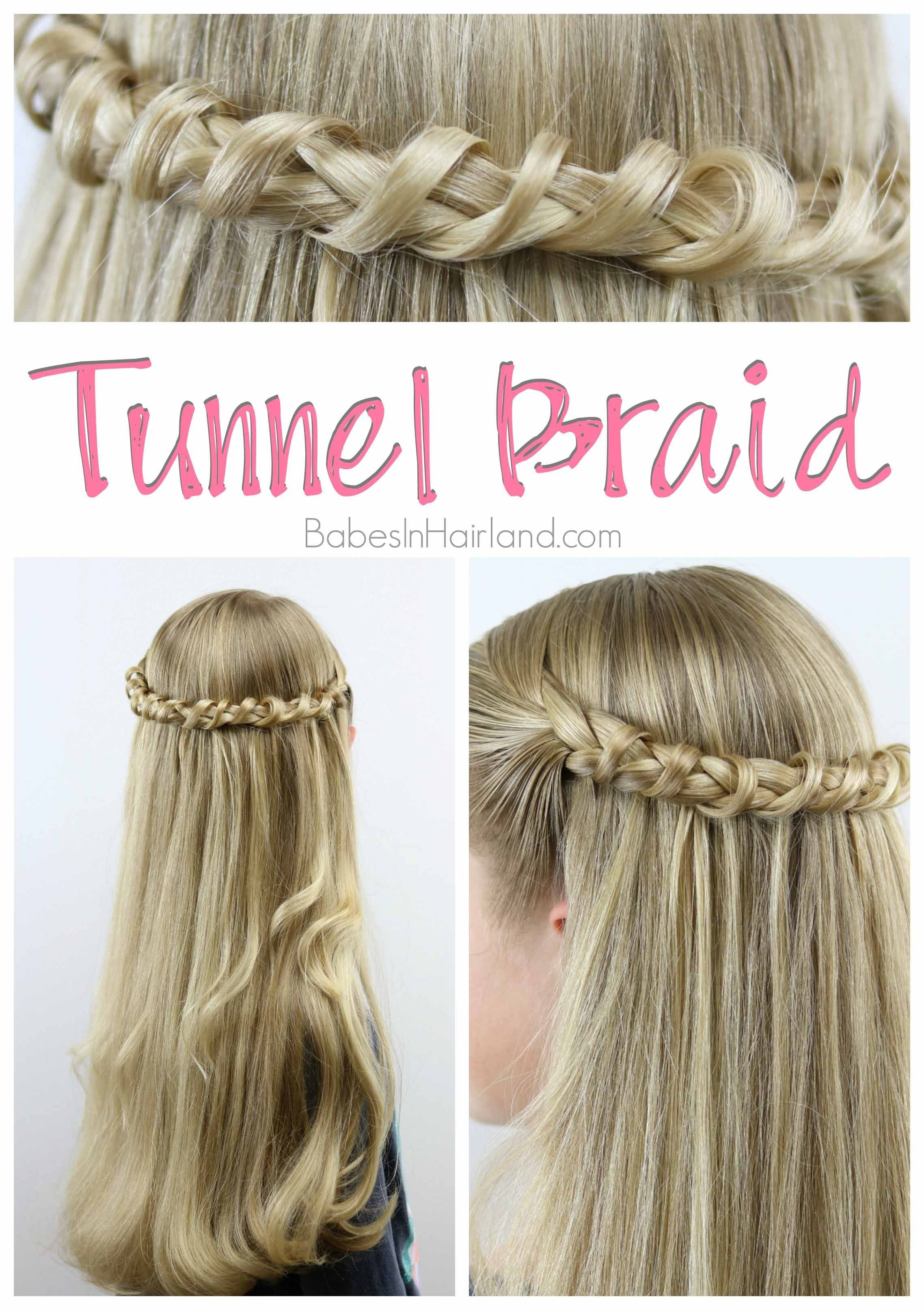 Tunnel Braid Pinterest