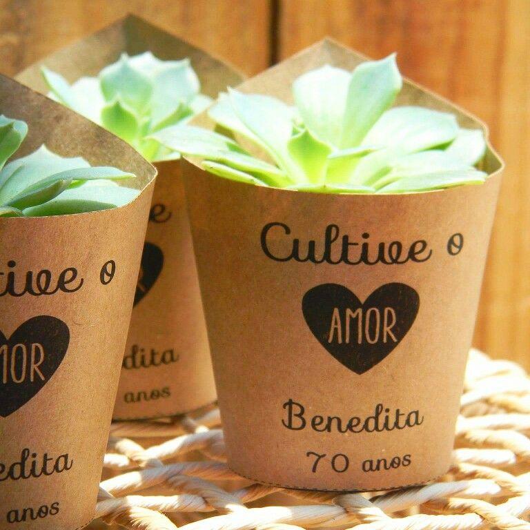 "Little Garden mini arranjos - ""Cultive o Amor"""