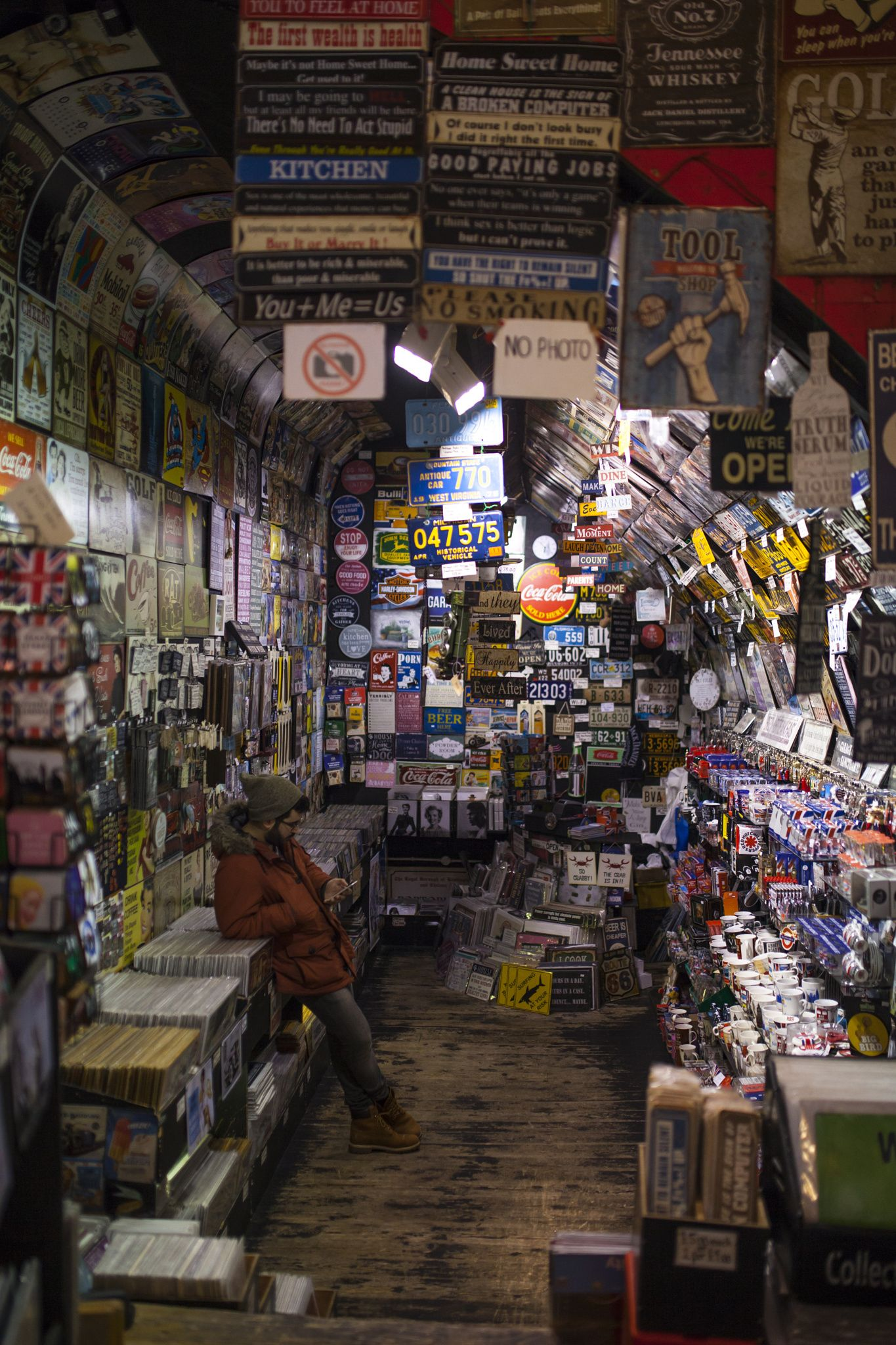 Camden Town: Vynil Shop In Camden Town