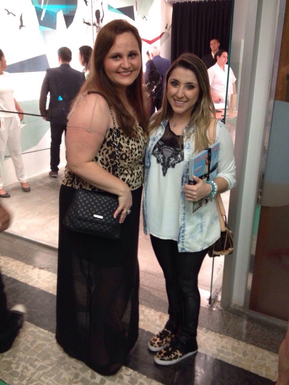 Designer Adriana Ximenes da VIKX e Camilla Villas - Evento Quadrilátero do Charme - Vogue Rio - Galeria Fórum Ipanema.