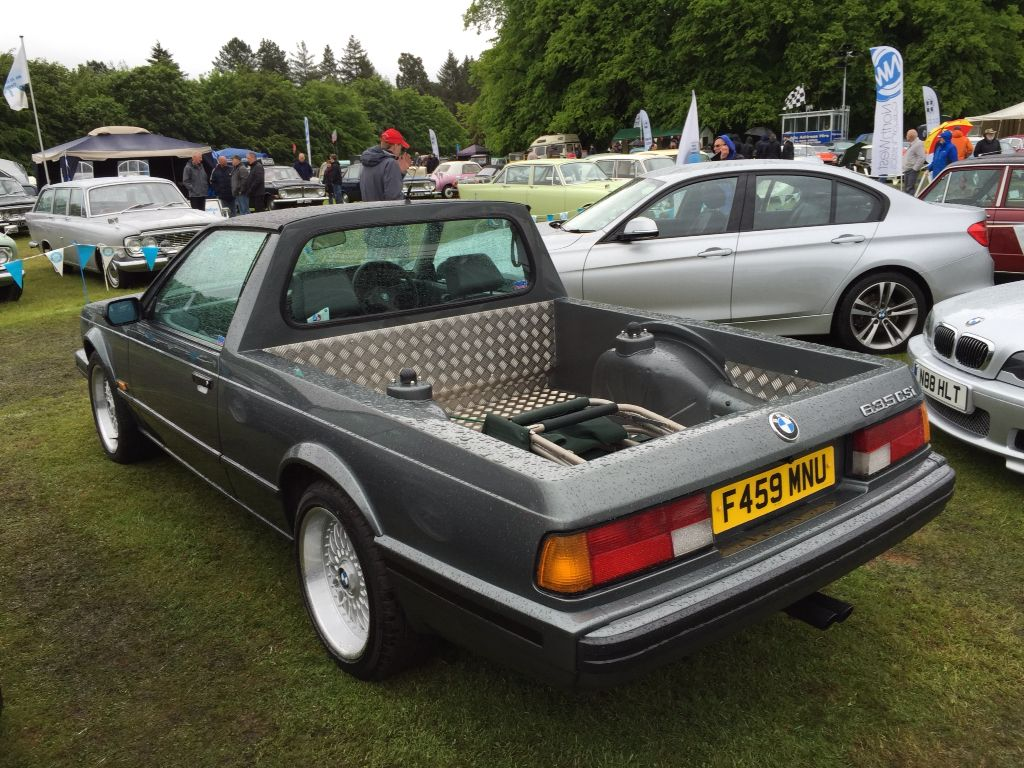 A Very Unusual Vehicle Bmw 6 Series Converted To A Pickup Truck