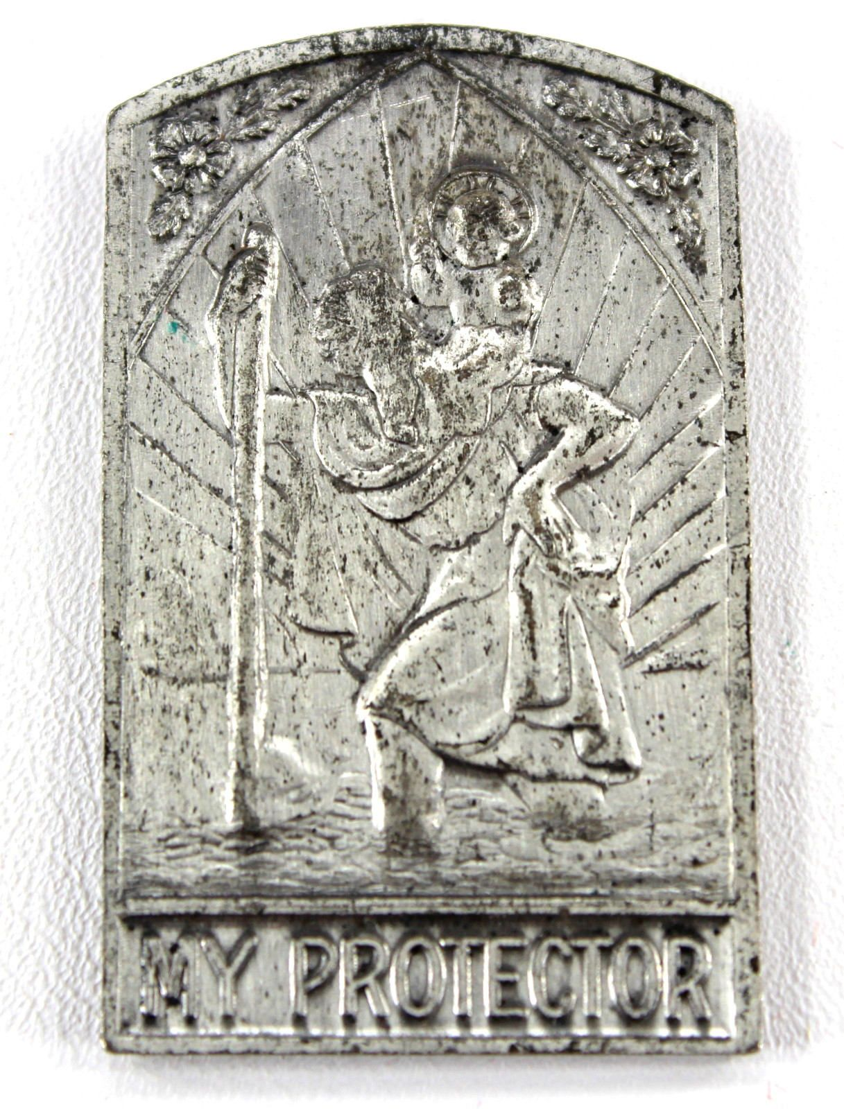 St Christopher & O L  of Perpetual Help Pocket Shrine