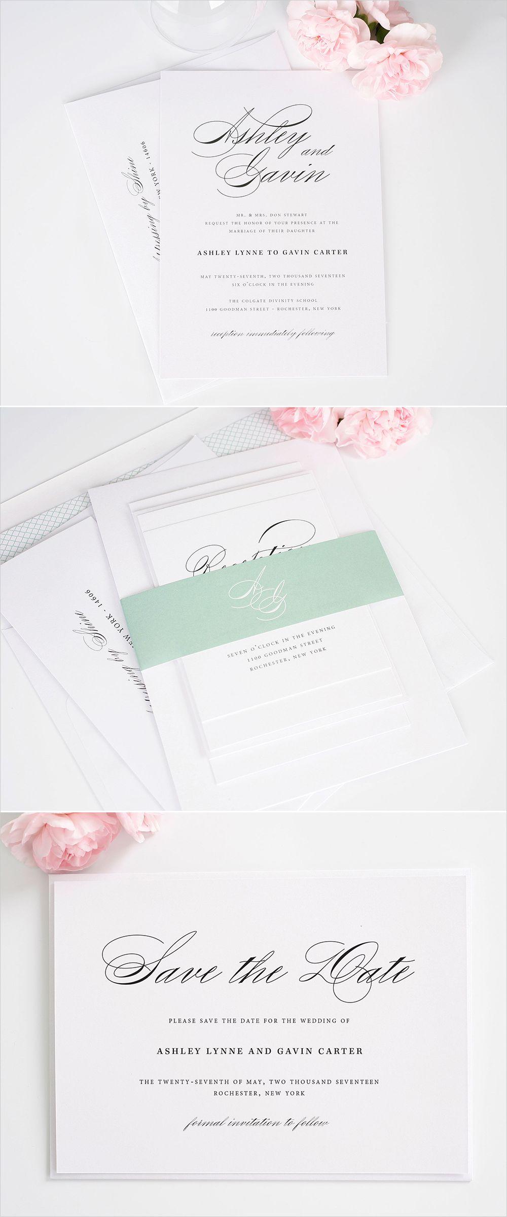 Shine Wedding Invitations