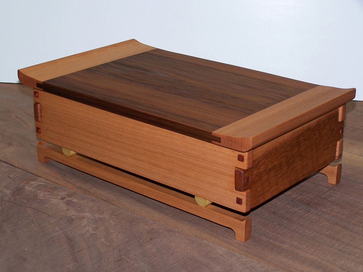how to make handmade wooden boxes