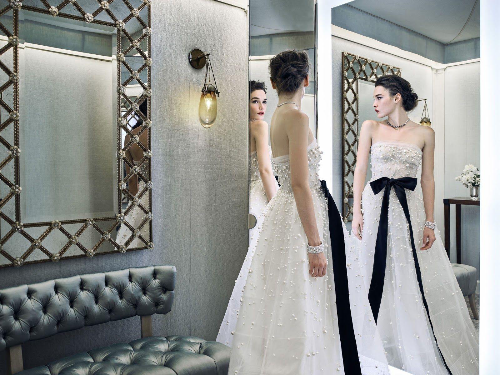 Editorial : Bridal\'s Breakfast at Tiffany\'s by Reem Acra