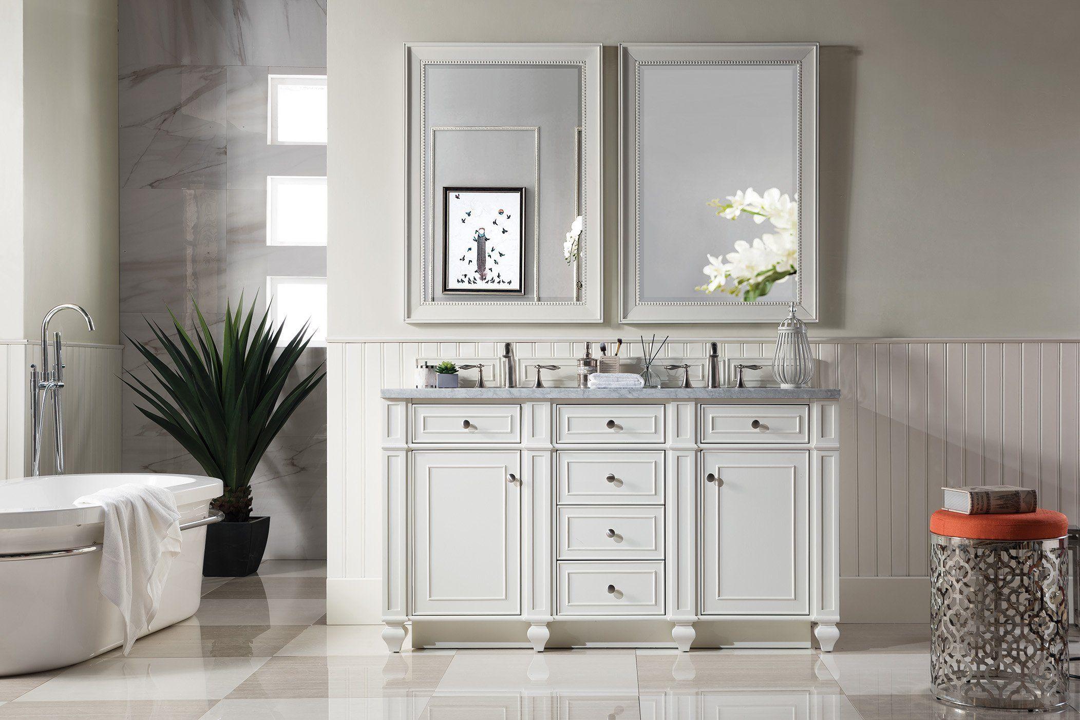 Bristol 60 Double Bathroom Vanity Double Sink Bathroom Vanity Double Bathroom Vanity Small Bathroom Vanities