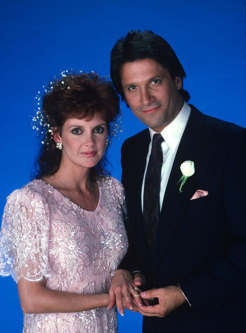 GENERAL HOSPITAL - 11/7/86 Bobbie (Jacklyn Zeman) and Jake (Sam Behrens)  were married. #GH #GeneralHospital
