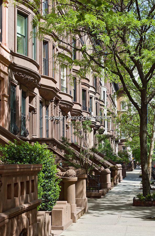Brownstone Buildings Manhattan Photography Of New York City By Patrick Batchelder New York Apartments New York Homes Brownstone