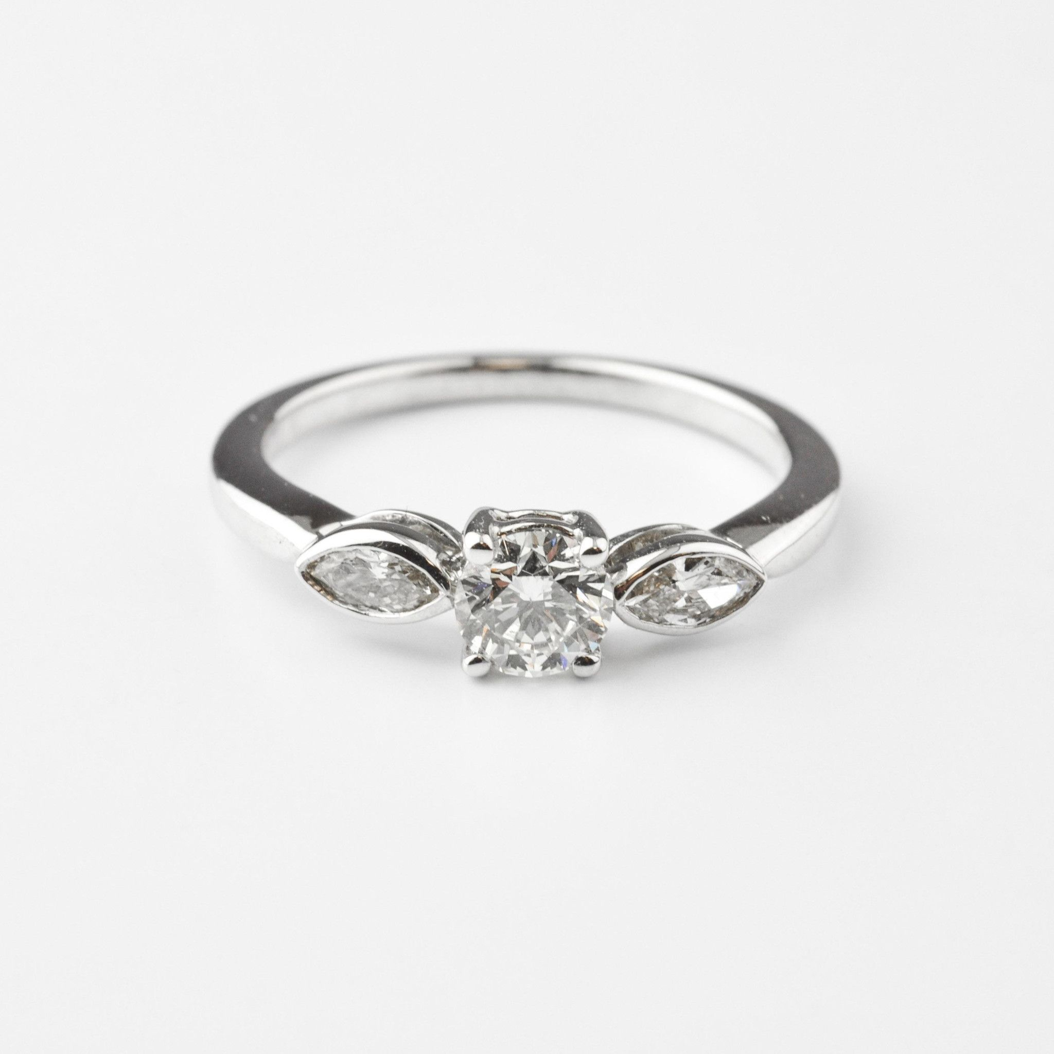 engagement shank collection rings pav ring with diamond bridal asprey round brilliant cut jewellery
