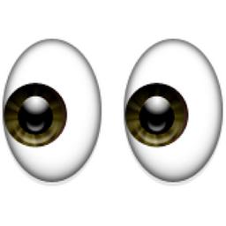 👀 Eyes Emoji (U+1F440/U+E419) | Eyes emoji, Emoji, Eyes